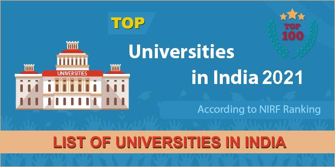 list-of-universities-in-india