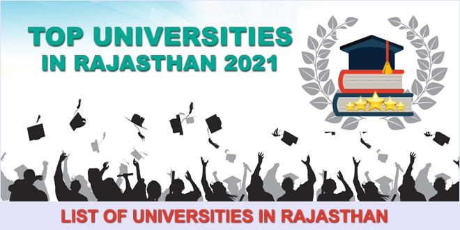 top-universities-in-rajasthan-2021