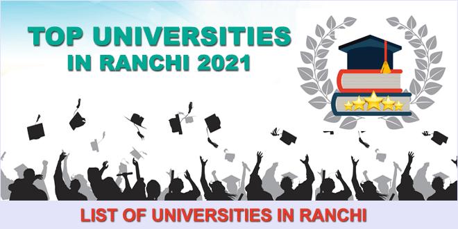 top-universities-in-ranchi-2021