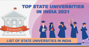 top-state-universities-in-india-2021