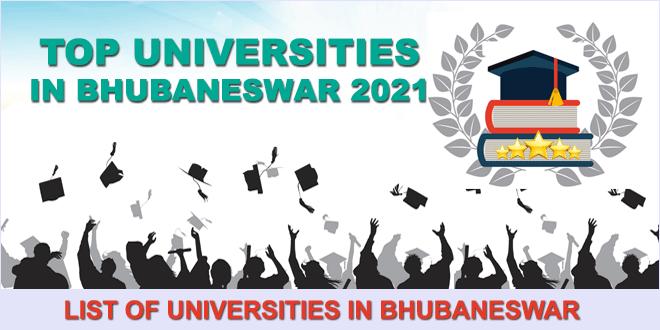 top-universities-in-bhubaneswar-2021