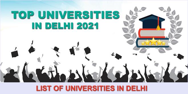 top-universities-in-delhi-2021