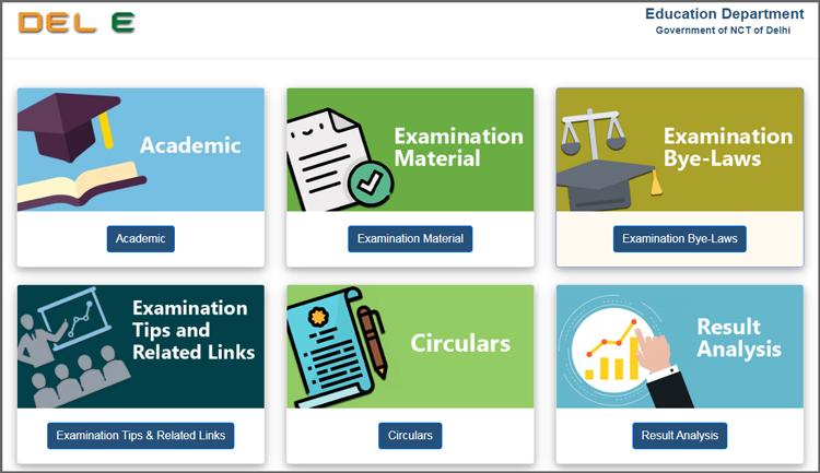 DelE-Education-Department-Academics-Examinations
