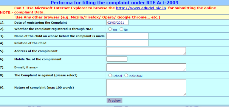 Delhi-Education-Department-DoE-Grievances