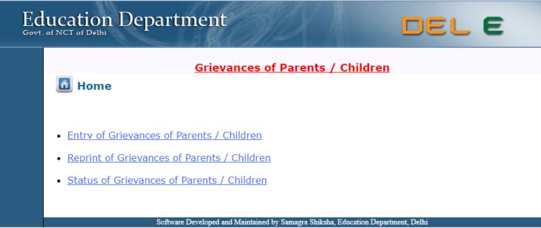 Delhi-Education-Department-Grievances